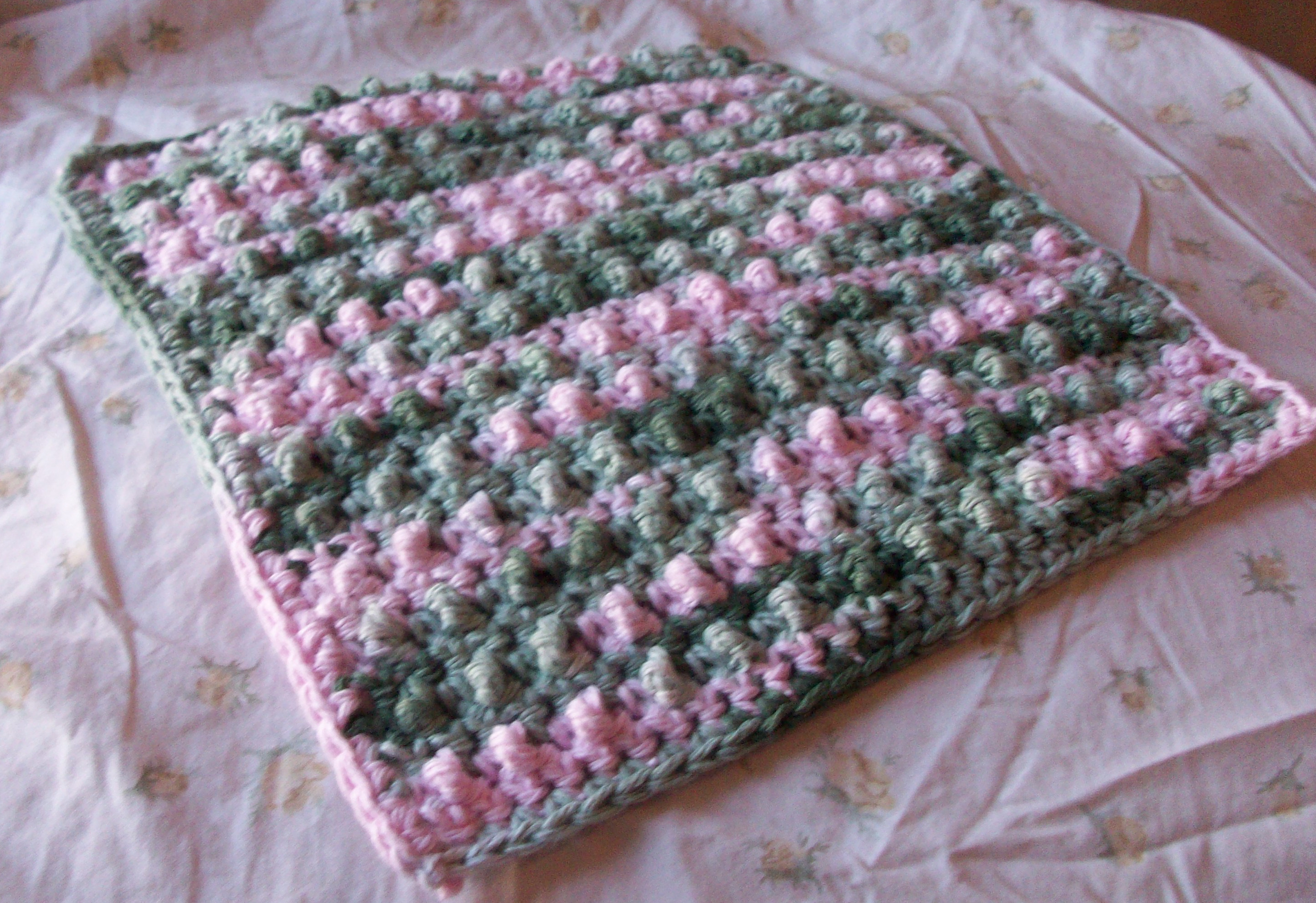 Crochet Stitches Dishcloths : Crochet Dishcloths : Maggie Weldon, Free Crochet Patterns